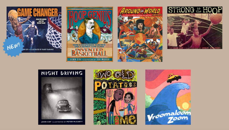 Picture books by John Coy